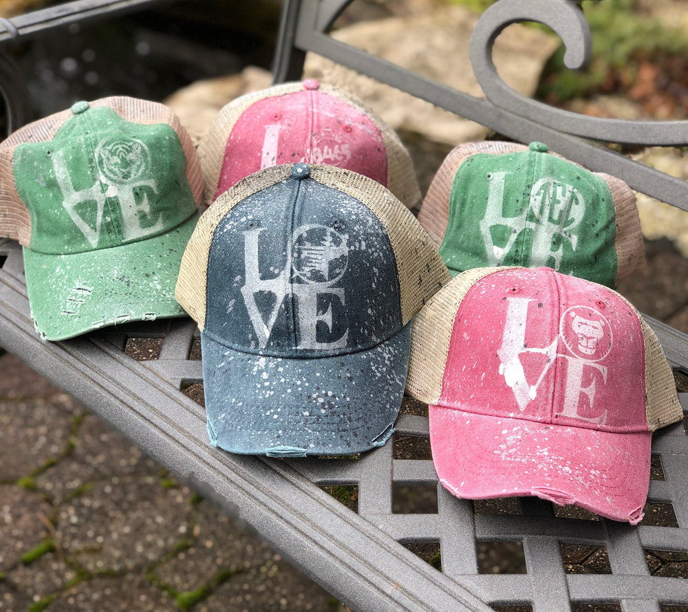 Bleached LOVE Hat