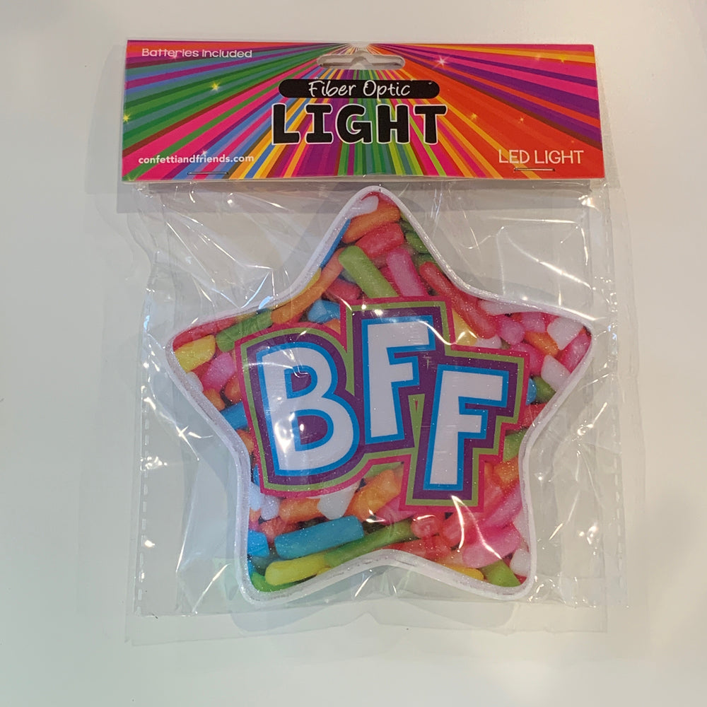 Fun Fiber Lights - BFF Sprinkle Star
