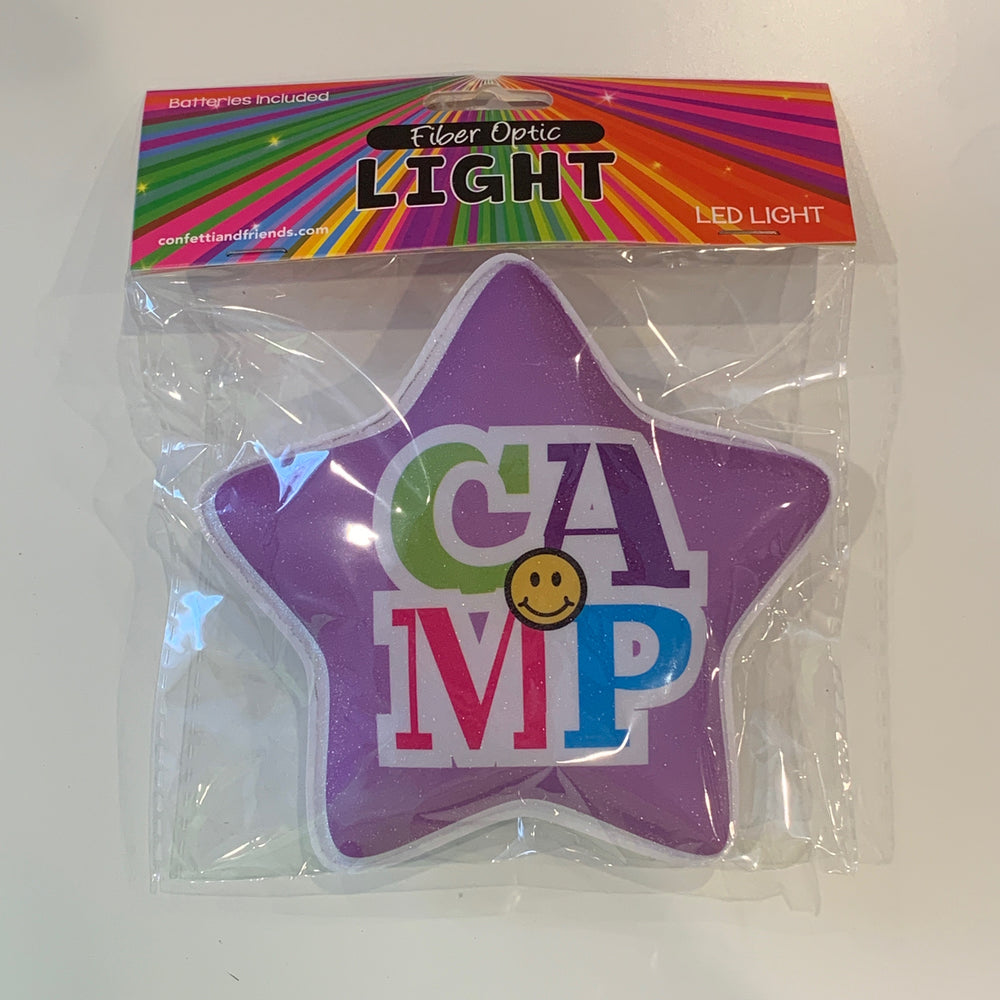 Fun Fiber Lights - Camp Smiley Star