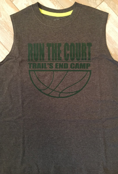 Run The Court Camp Tee