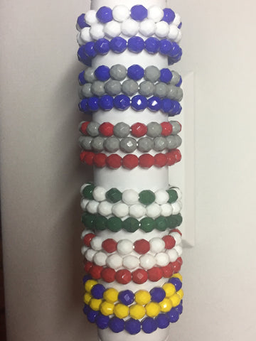 Colored Bead Set of 3