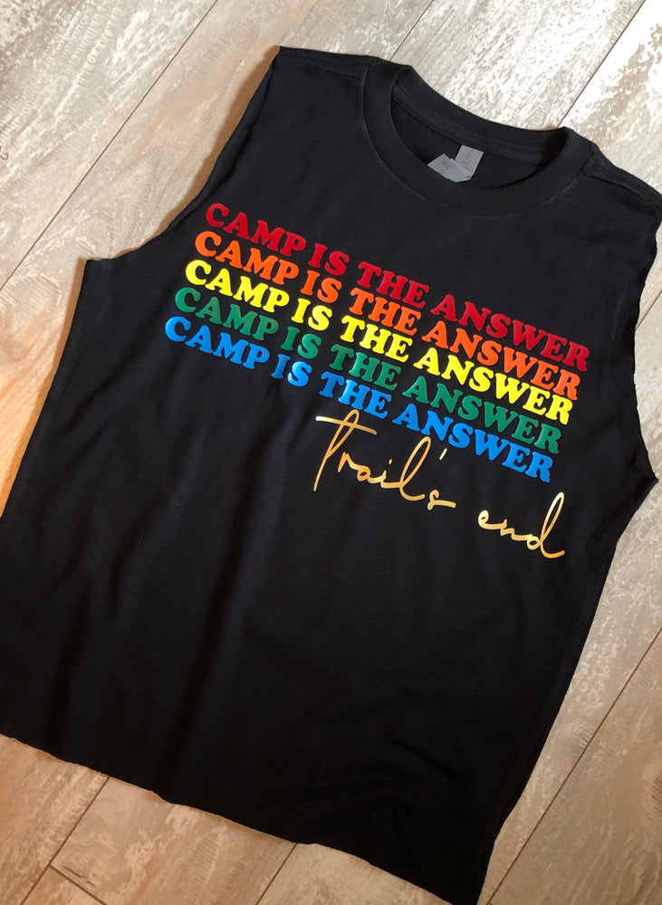 Camp Is The Answer Tank