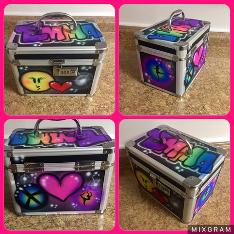 Airbrushed Lockbox