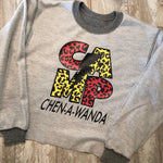 Leopard Cropped & Reversed Sweatshirt