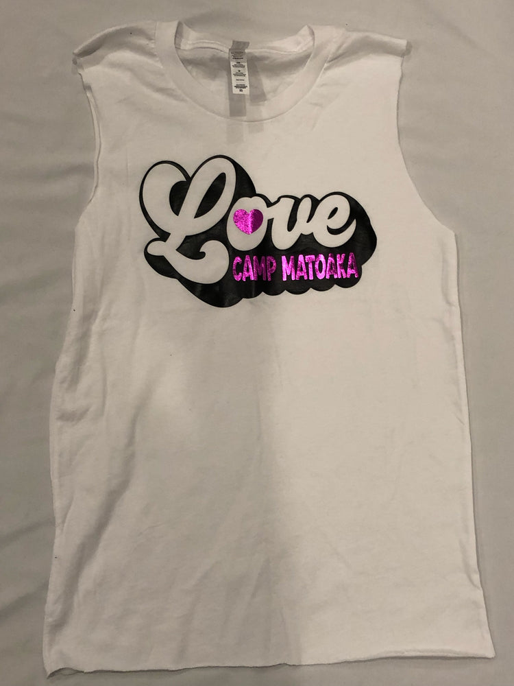 Sample Sale - Matoaka - Bubble Love Cut Muscle Tank
