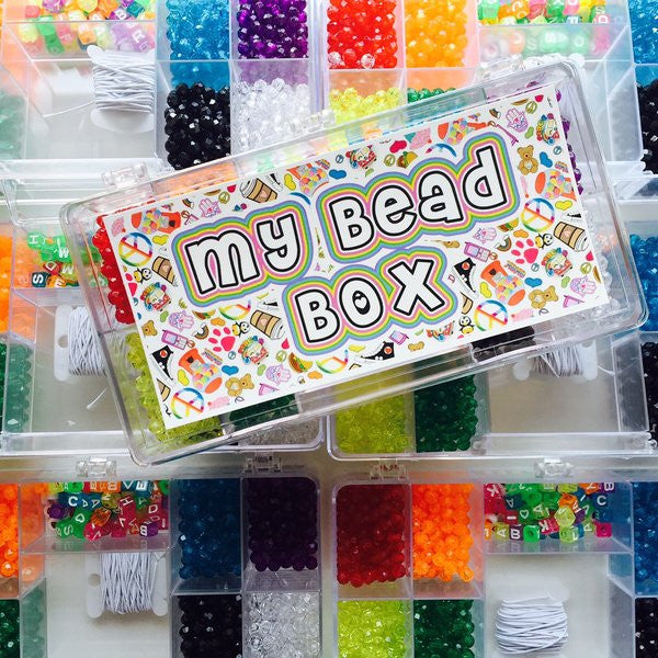Namedrops Bead Box & Beads