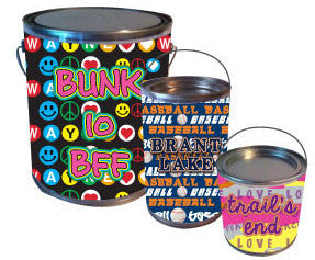 Paint Tins for Candy