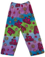 "Fuzzy Pajama Pants - I ""heart"" Camp"