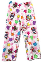 Fuzzy Pajama Pants - Party Skulls