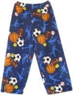 Fuzzy Pajama Pants - Sports Frenzy