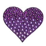 "Purple Ombre Heart - 2"" StickBeans Sticker"