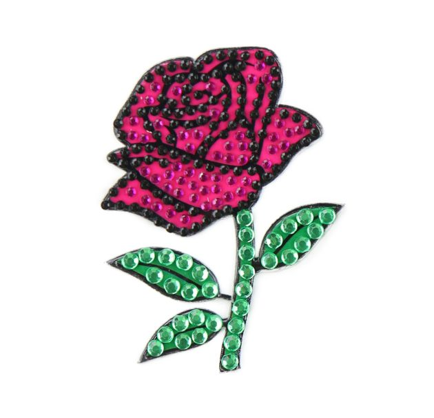 "Rose - 2"" StickerBeans Sticker"