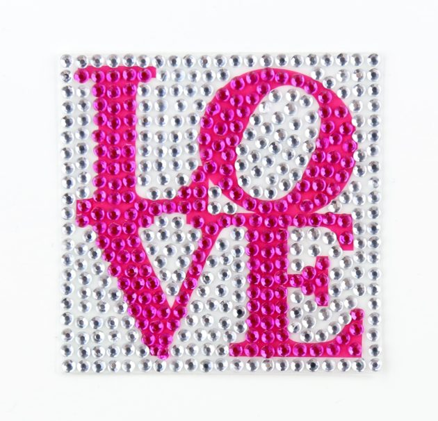 "LOVE - 2"" StickerBeans Sticker"