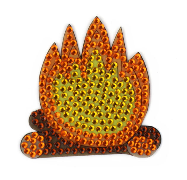 "Campfire - 2"" StickerBeans Sticker"