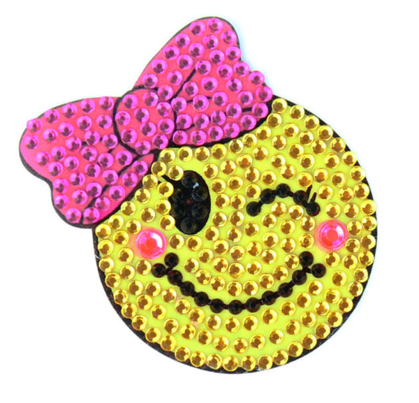 "StickerBeans - Glam Girl - 2"" Rhinestone Sticker"