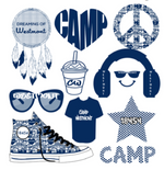 "Large Camp Decal Sheet - ""Heart"""