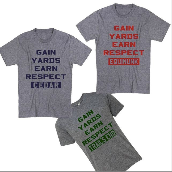 Gain Yards Earn Respect Tee
