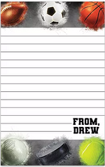 Powder Sports Personalized Notepad