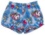 Fuzzy Pajama Shorts (girls) - Unicorns