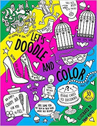 Lets Doodle and Color - Coloring Book