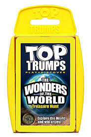Top Trumps- The Wonders of the World