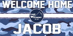 Welcome Home Banner - Camo