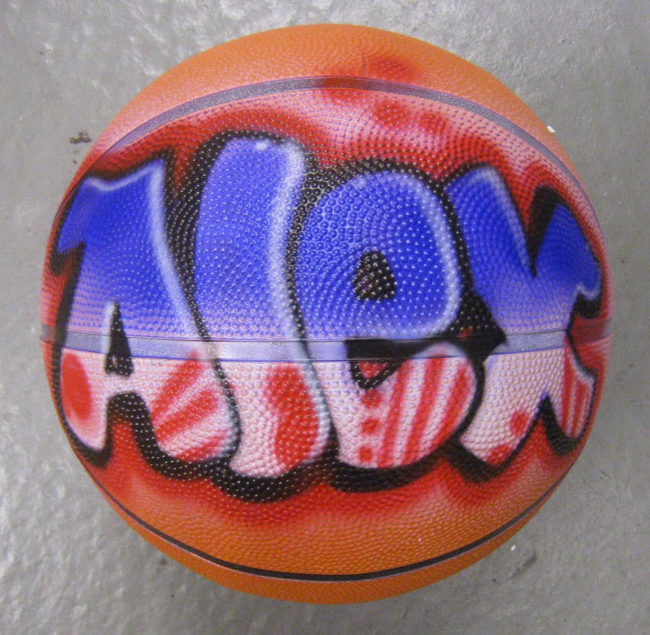 Airbrushed Basketball