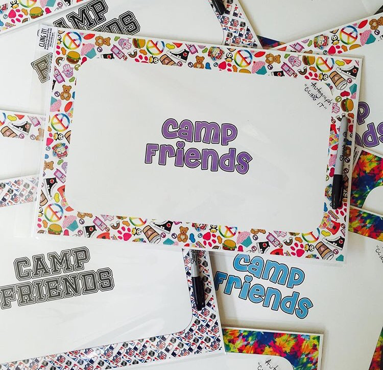 Autograph Clings - Camp Friends