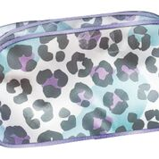 Snow Leopard Small Cosmetic Bag