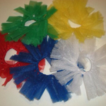 Tutu Ponytail Holders