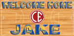 Welcome Home Banner - Basketball