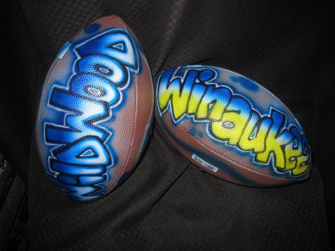 Airbrushed Football