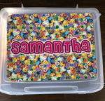 Sample Sale - Samantha - Junk Box - Peace, Love, Happiness Tie Dye