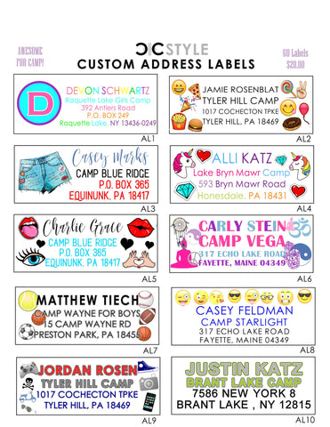 C+C Address Labels