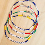 Camp Color Beaded Chokers