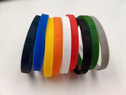 Rubber Love Bangles