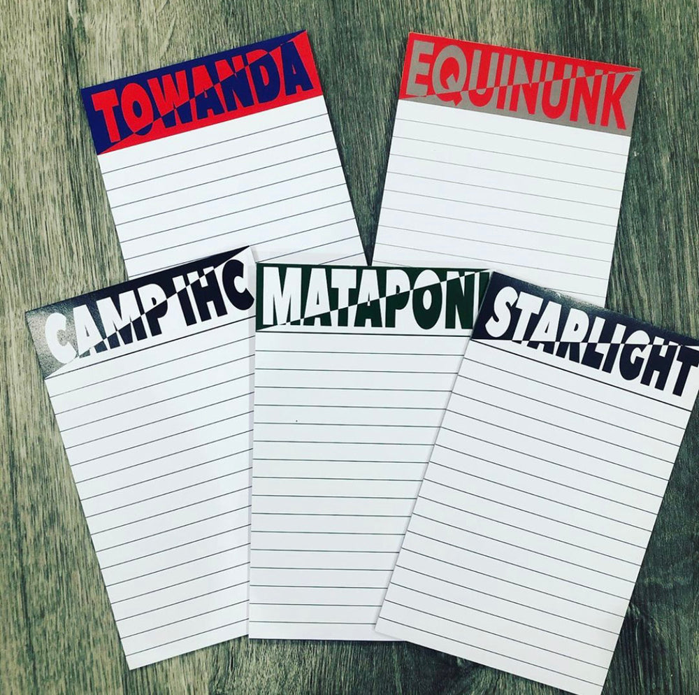 2-Tone Custom Camp Notepad