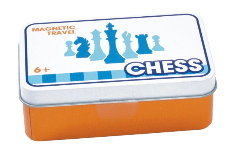 Magnetic Tin Travel Chess