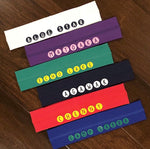 Circle Name Headbands