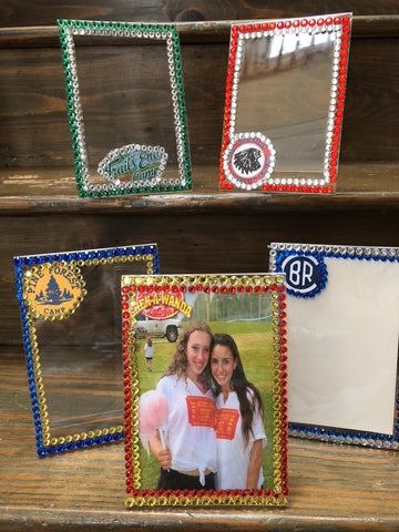 Custom Camp Lucite Frame