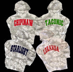 Tie Dye Hoodie with Camp Name