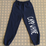 Sweatpants with Camp on the Leg / Back