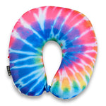 Rainbow Tie Dye Travel Neck Pillow