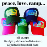 Peace Love Camp Hats