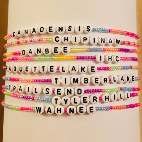 Neon Beaded Chokers