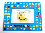 Turquoise Emoji Autograph Frame