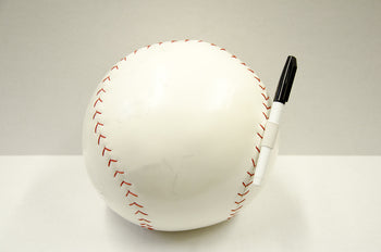 Baseball Autograph Pillow