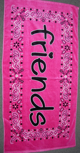 Friends Bandana Towel