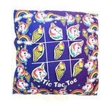 Unicorn Tic Tac Toe Velcro Pillow