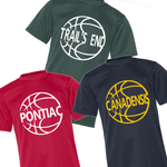 Camp Basketball Tee